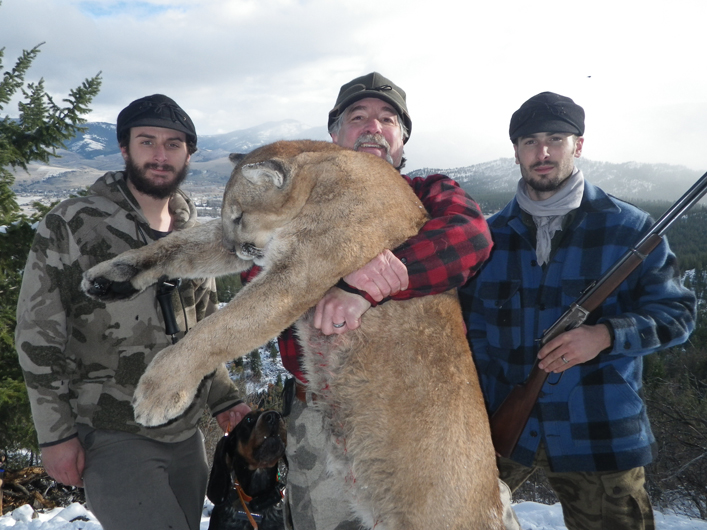 Best Montana Mountain Lion Hunts