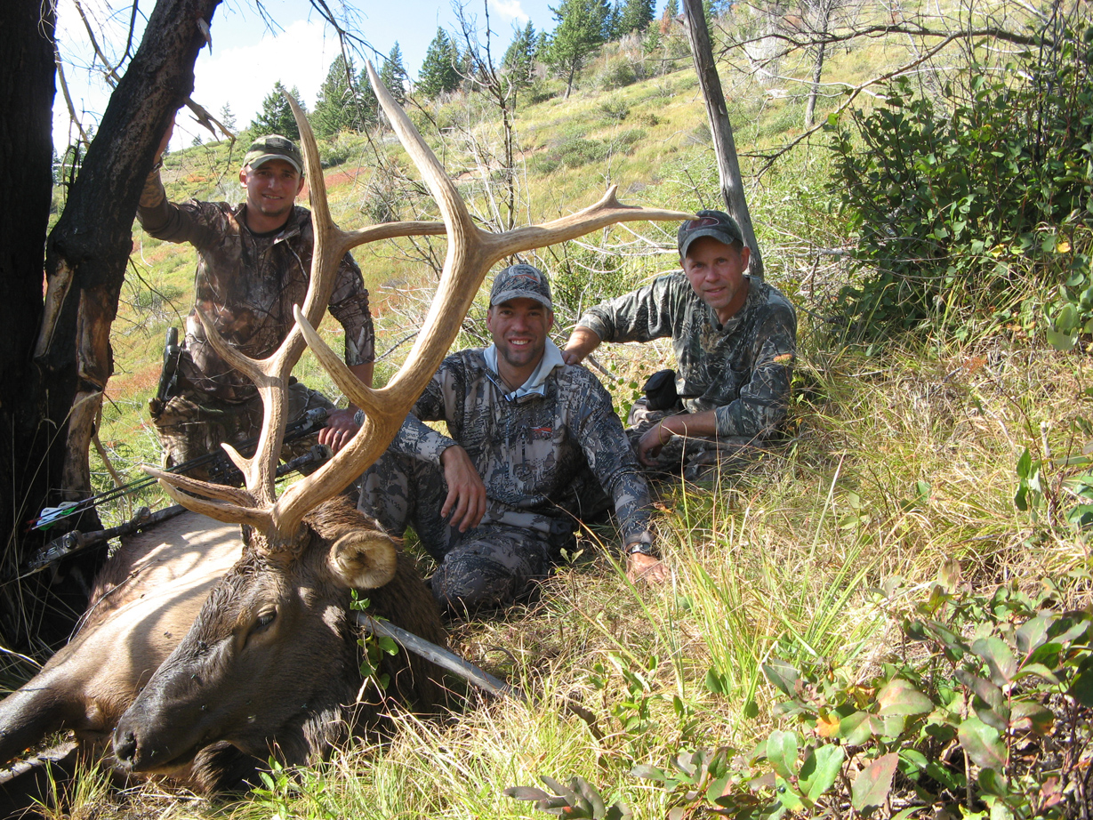 Elk hunting montana top outfitter