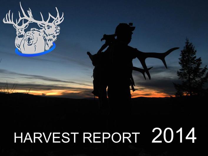 Montana hunting season 2014 report